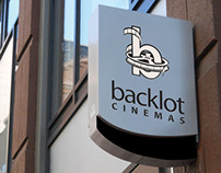 Backlot Cinemas Branding