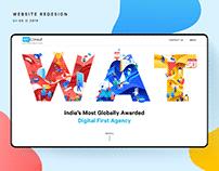 WatConsult Agency - Website Redesign