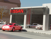 Nissan Showroom - Aleppo