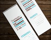 Calendario DIM 2012