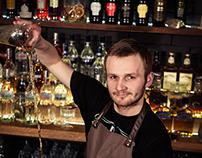 Kita Koguta - bartenders photo session