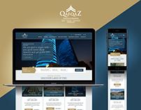 Qafqaz Hotels Website
