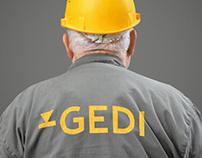 Gedi Construction Company Identity