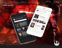 Star Wars app | UX/UI