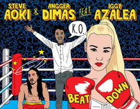 Steve Aoki Album Covers