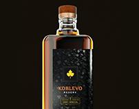 Ukrainian cognac concept