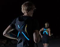 X-BAG Active lighting kit for back pack