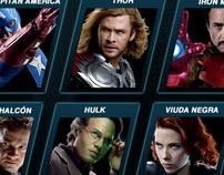 Disney App - Concurso Vengadores