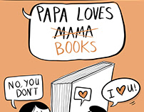 Papa Loves Mama/ Books
