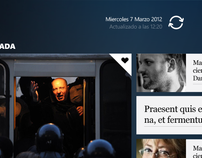 El Pais, Windows 8 app