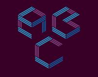 Cubic typeface