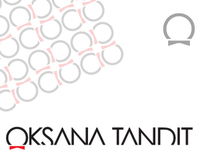 Logotype for Oksana Tandit's Haute Couture brand