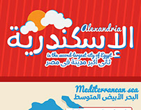 """Alexandria """"Is the second-largest city of Egypt"""""""