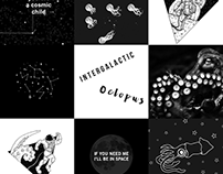 Moodboard - Intergalactic Octopus