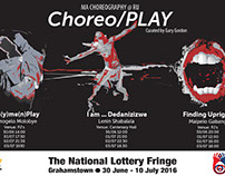 Choereo/Play poster for NAF 2016