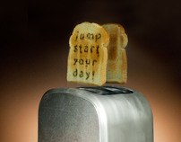 Jump Start Your Day toaster