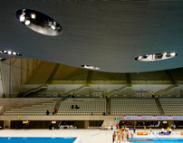 Olympic Aquatic centre and Velodrome