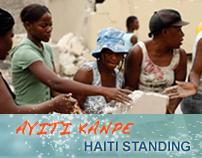 UN Ayiti Kanpe – Haiti Standing