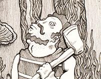 Mushroom Lumberjack
