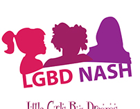 Little Girls Big Dreams of Nashville TN (T-shirt Logos)