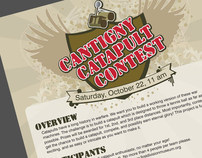 Cantigny Catapult Contest Flyer