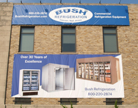 Billboard for Bush Refrigeration