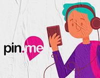 Pin.me | APP & Branding