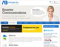 Albitute Biz Website Template