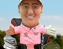 HSBC WGC Champions golf headcovers