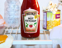 "Heinz ""Bloody hot"""