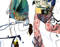 Fashion collages