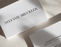 Stefanie Brückler Logo and Business Cards