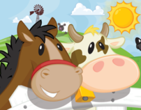 Nursery Farm Illustrations