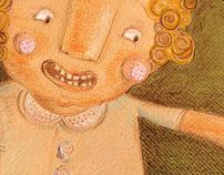 """La Reina Batata"" ilustración homenaje Ma. Elena Walsh"