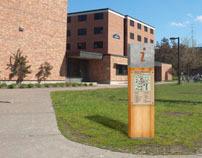 UW-Stout Campus Wayfinding System | Signage