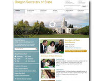 Oregon Secretary of State Website