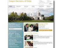 Oregon Secretary of State Website