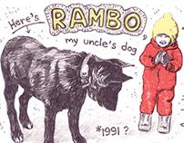 RAMBO minicomic