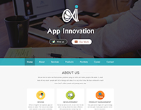 App Innovation Landing Page