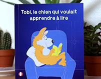 Tobi, le chien qui voulait apprendre à lire