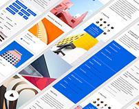Whatever Agency — Free Template & UI Kit — Adobe XD