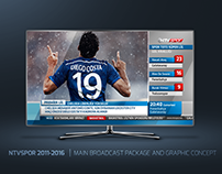 NTVSPOR 2011-2016 | MAIN BROADCAST PACKAGE AND CONCEPT