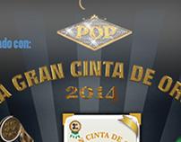 Trofeo y Banner