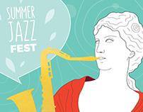 Usadba Jazz Poster