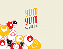 YUM YUM SUSHI CO. | Rebrand