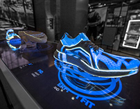 Adidas UltraBoost Shoe Projections