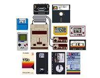 8bit Nostalgic Gadgets