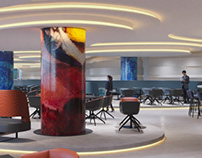 design: Marc Chagall Lounge by M+R