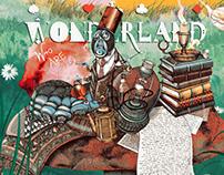 Alice in Wonderland Cover Illustrations