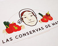 Organic foods orchard - visual identity